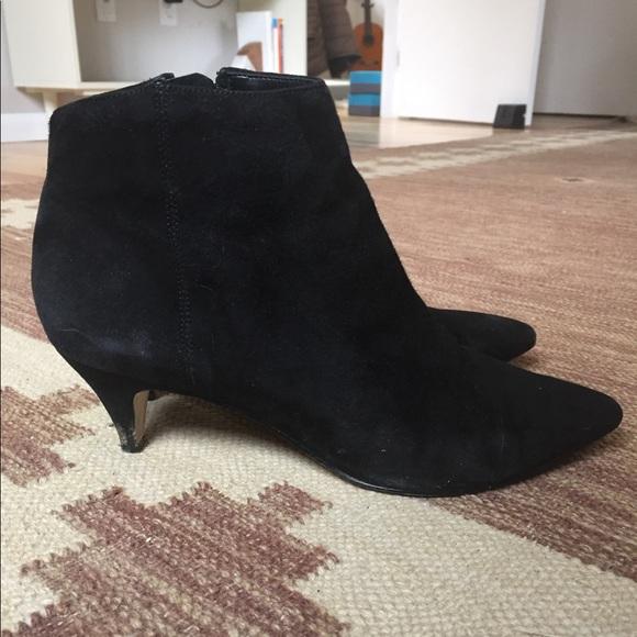 8226849cc07e5c Sam Edelman Kinzey kitten heel Booties Suede 8.5. M 5ac930e65512fd837c78992c